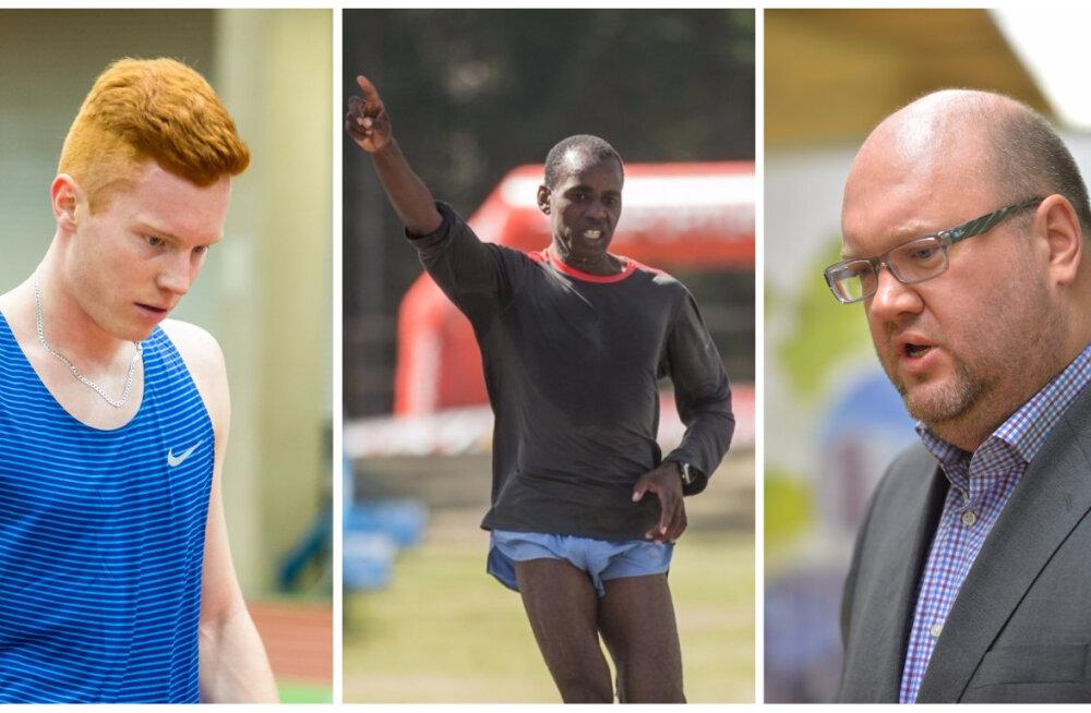Kergejõustikuliidu president Eestis võistlevatest välismaalastest: nii nagu meie sportlased võistlevad välisvõistlustel, võivad välismaalased osaleda meie võistlustel