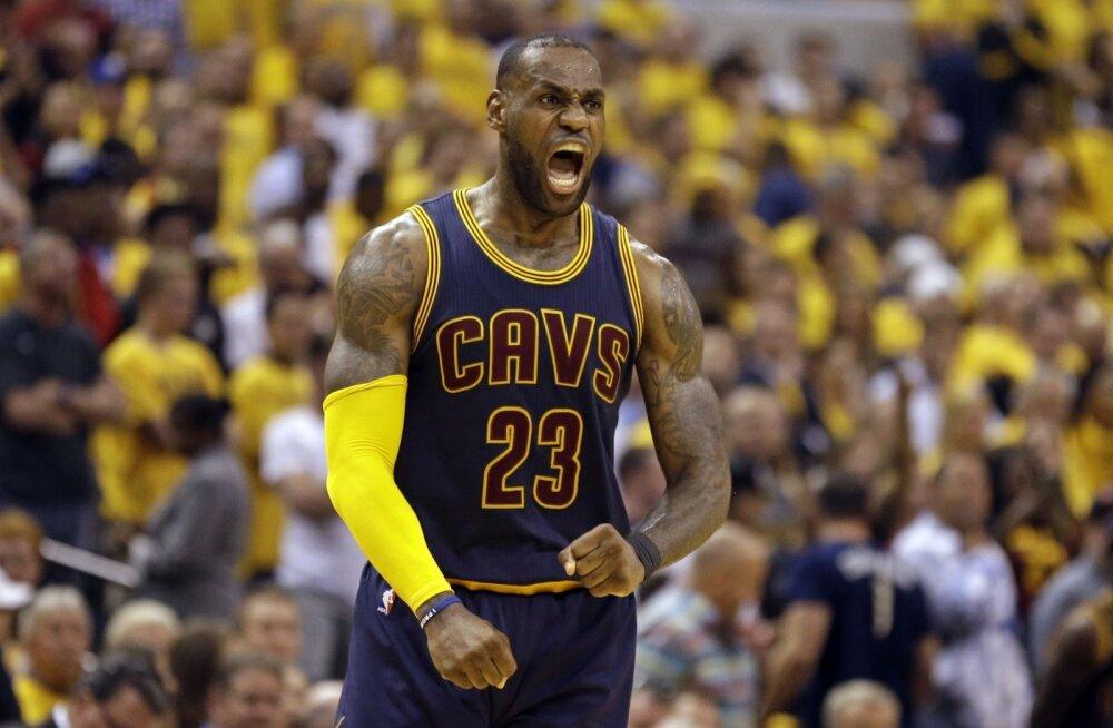 LeBron James veab Cavaliersi võidult võidule