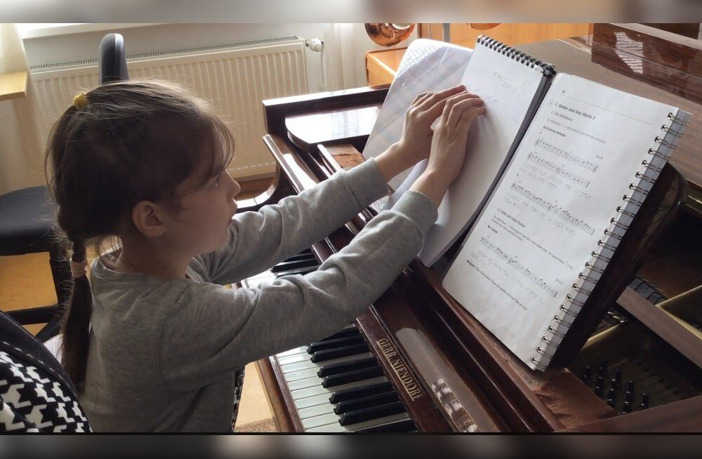 Muusikaline kõrgharidus pimedale on kättesaadav sisuliselt vaid absoluutse kuulmisega abituriendile