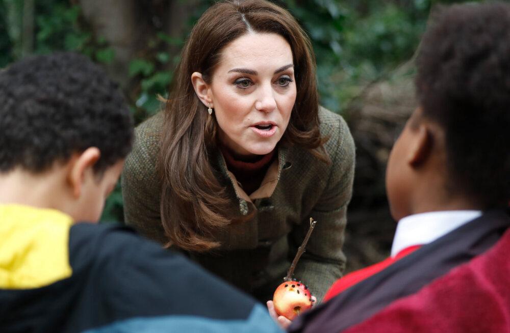 Tulevane ajakirjanik? Noore plika küsimus hämmastas hertsoginna Kate'i