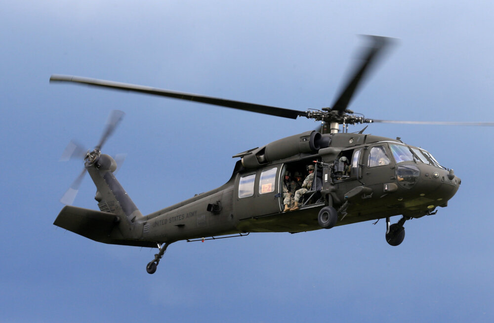 Taiwani helikopteriõnnetuses hukkus 8 inimest, kelle hulgas oli riigi kõrgeim sõjaväelane