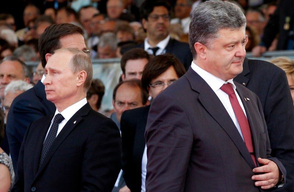 Porošenko ja Putin