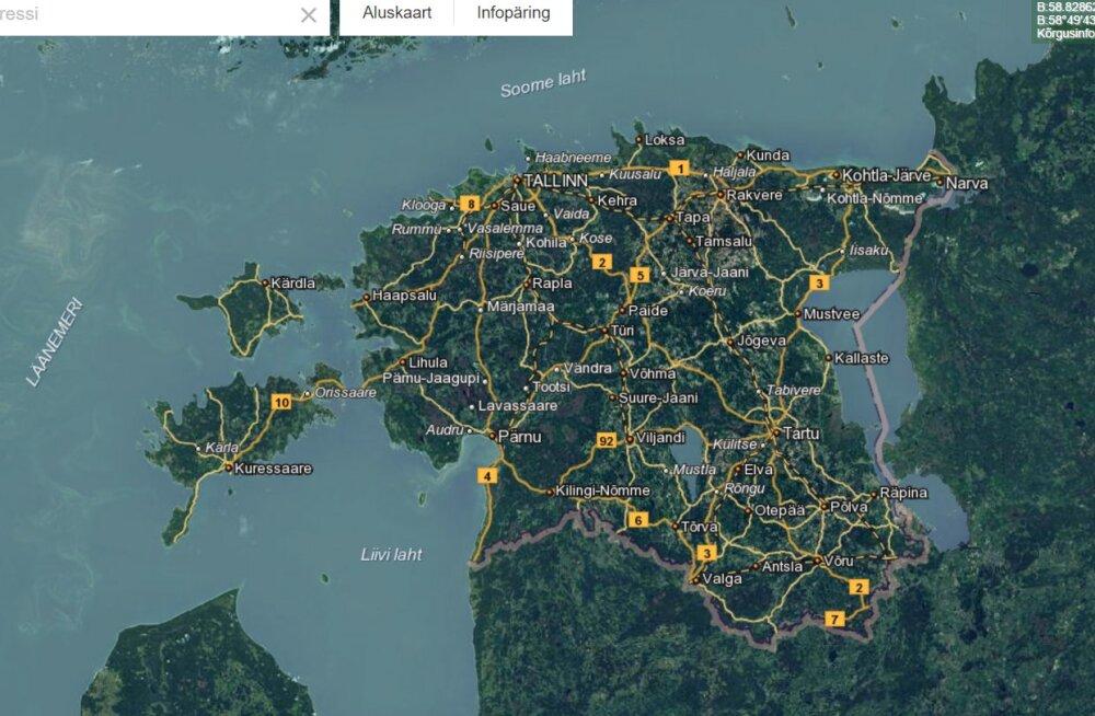 Valmis Eesti esimene mahealade kaardirakendus