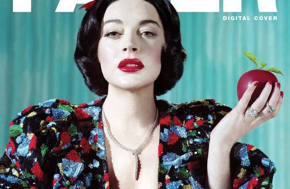 FOTOD | Tundmatuseni muutunud Lindsay Lohan üritab seksikate piltidega interneti murda