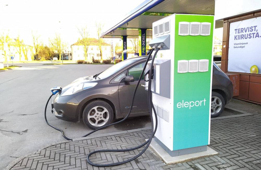Elektriauto laadimine muutub valutuks? Eleport plaanib tanklad laadijatega üle külvata