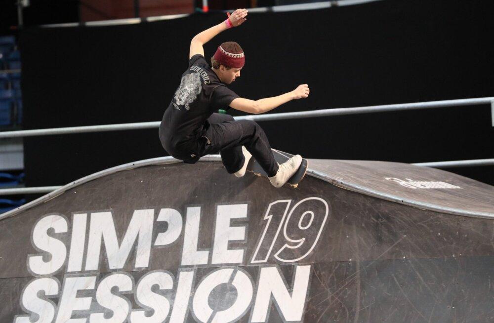 FOTOD | Eestlased Simple Sessioni finaali ei pääsenud, olümpiale pürgiv Roomet Säälik sai 18. koha