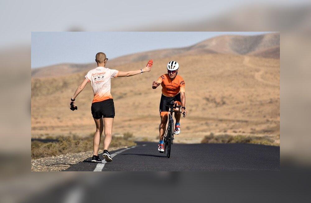 Ratasepp on kolmel päeval järjest jooksnud maratoni üliühtlases tempos - kolme päeva ajad kõik viie sekundi sees!
