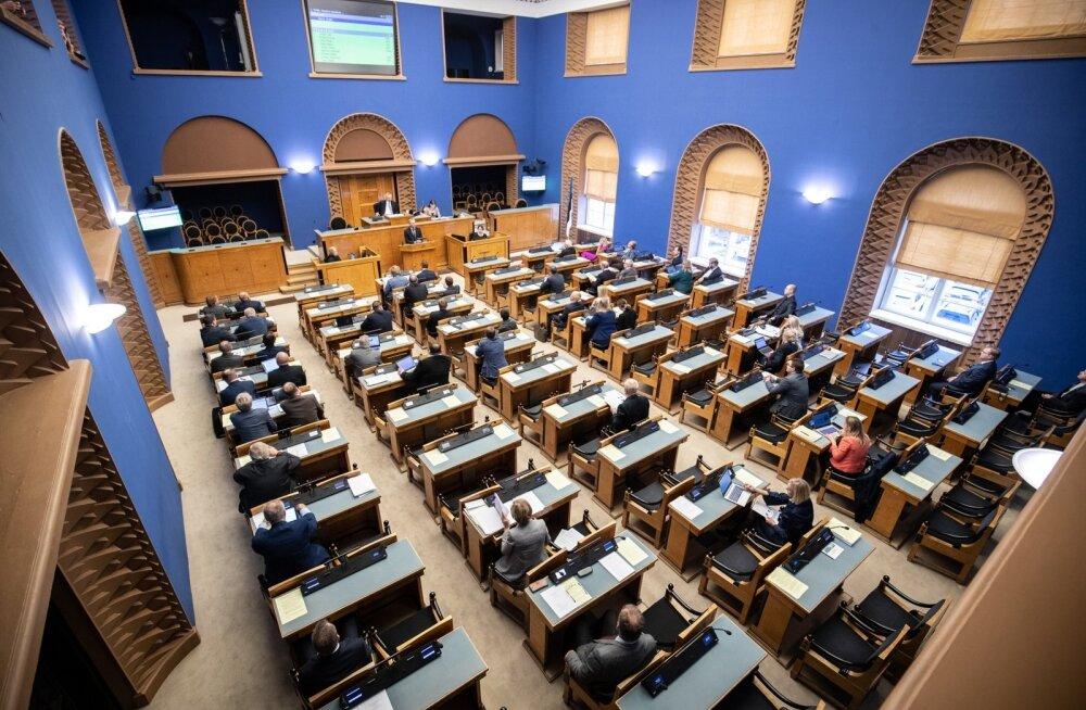 Riigikogu asub arutama järgmise aasta riigieelarvet