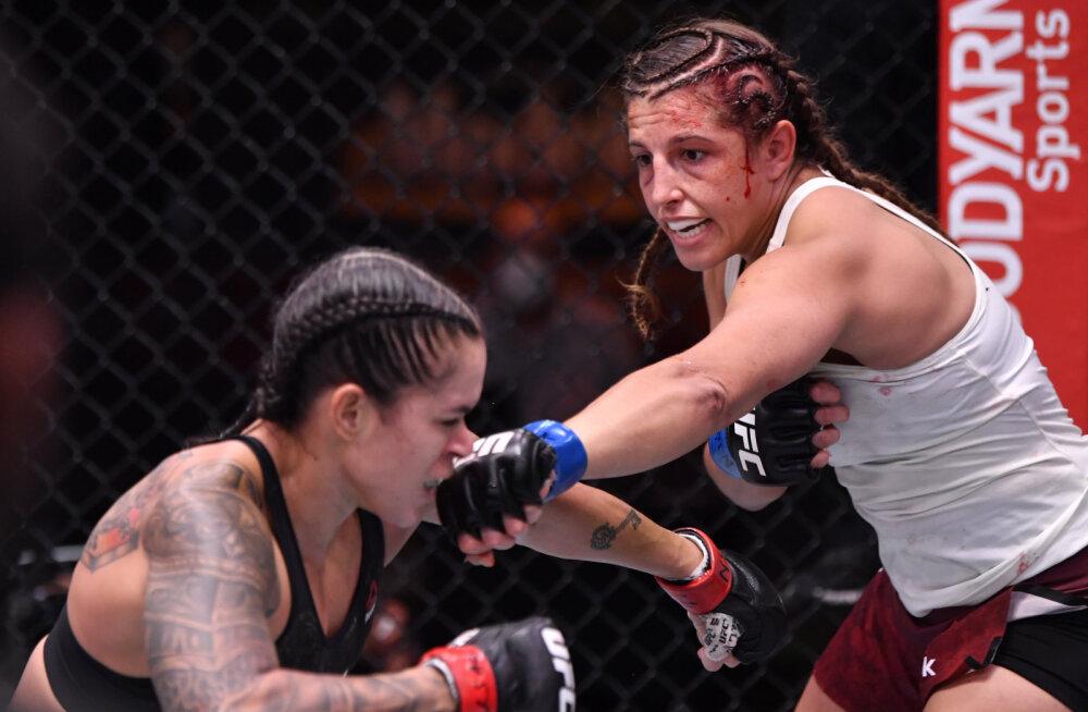 KARMID KAADRID | UFC-s tehti ajalugu, hirmuäratavalt palju hoope pähe saanud kaotaja nägu ei tundnud matši järel enam ära