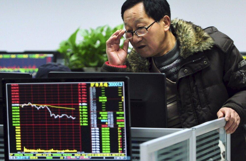 Investorid on murelikud kogu maailmas, aga eriti Hiinas. Paljud märgid näitavad, et kukkumine võtab sisse suurema hoo.