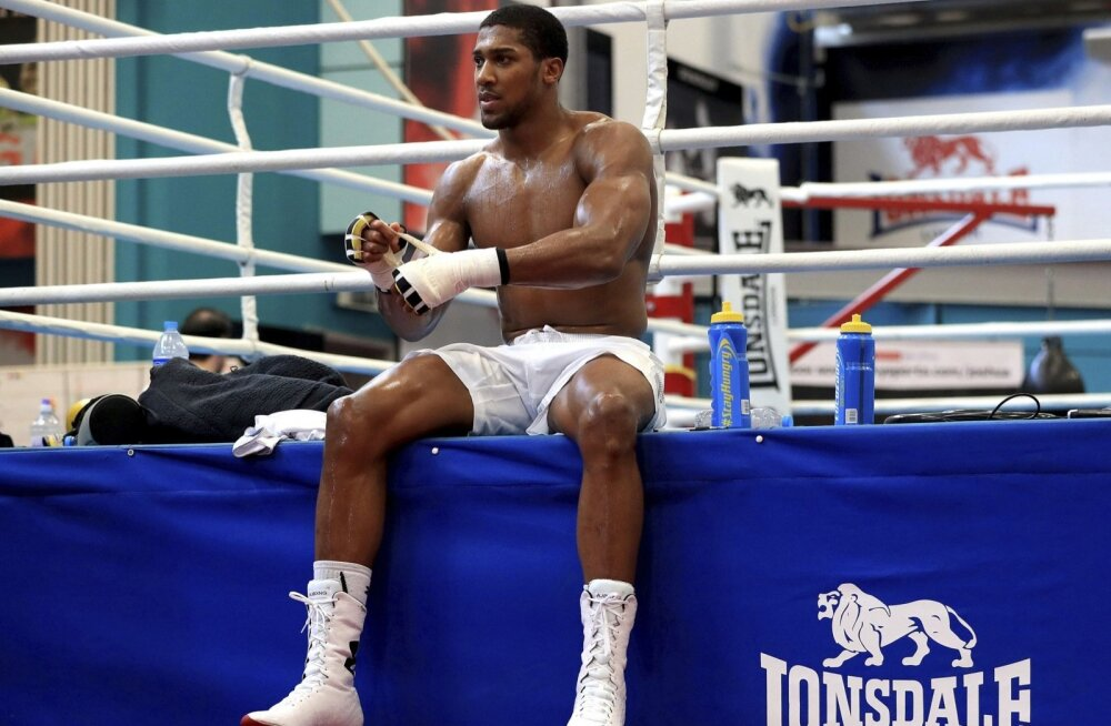 Anthony Joshua.