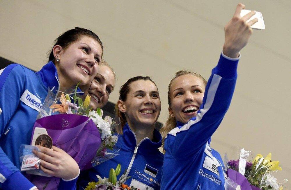 Eesti võidukas epeenaiskond Barcelona MK-l