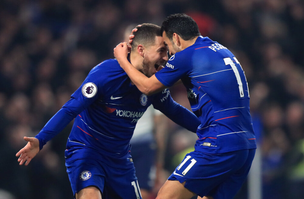 Eden Hazard ja Pedro