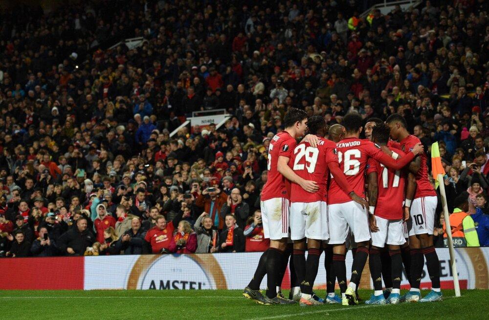 Manchester United, Sevilla ja Celtic tagasid Euroopa liigas edasipääsu