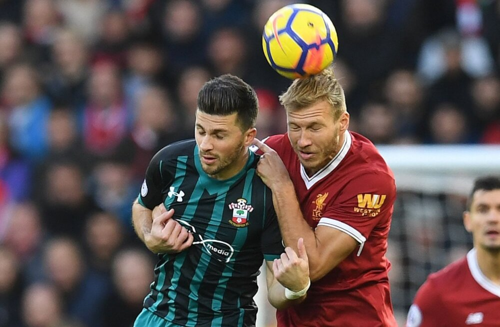 Ragnar Klavan mängus Southamptoniga