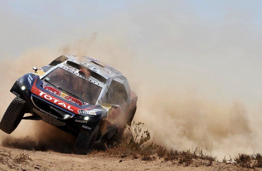 Dakari rallil suri 63-aastane pealtvaataja