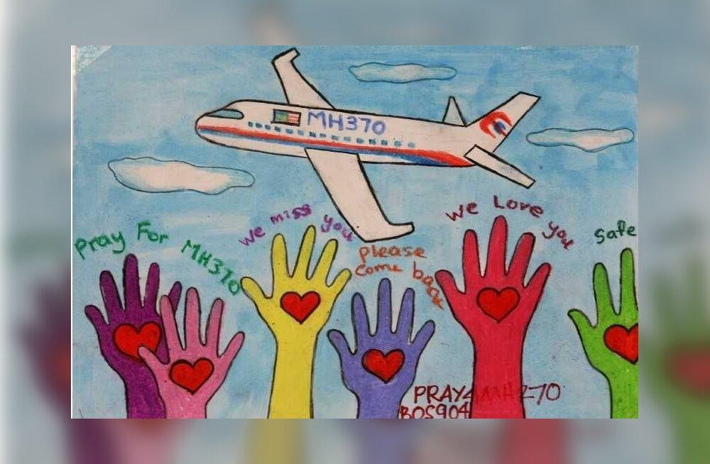 Kõik kadunud Malaisia lennuki pardal olnud inimesed on nii võimalikud ohvrid kui ka kahtlusalused