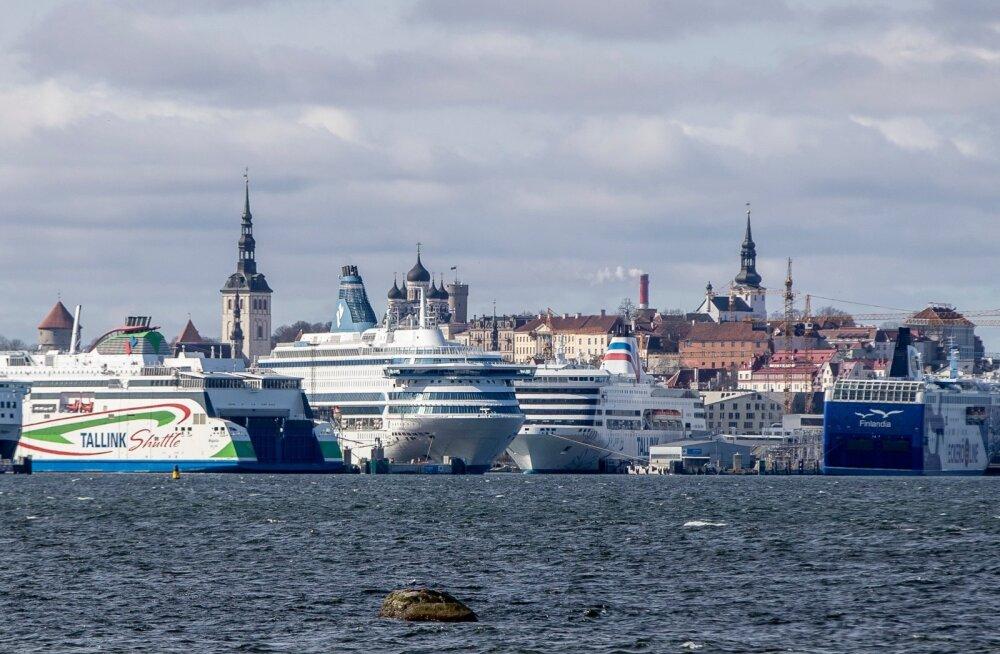 Inimtühi Tallinna sadam 13.04.2020