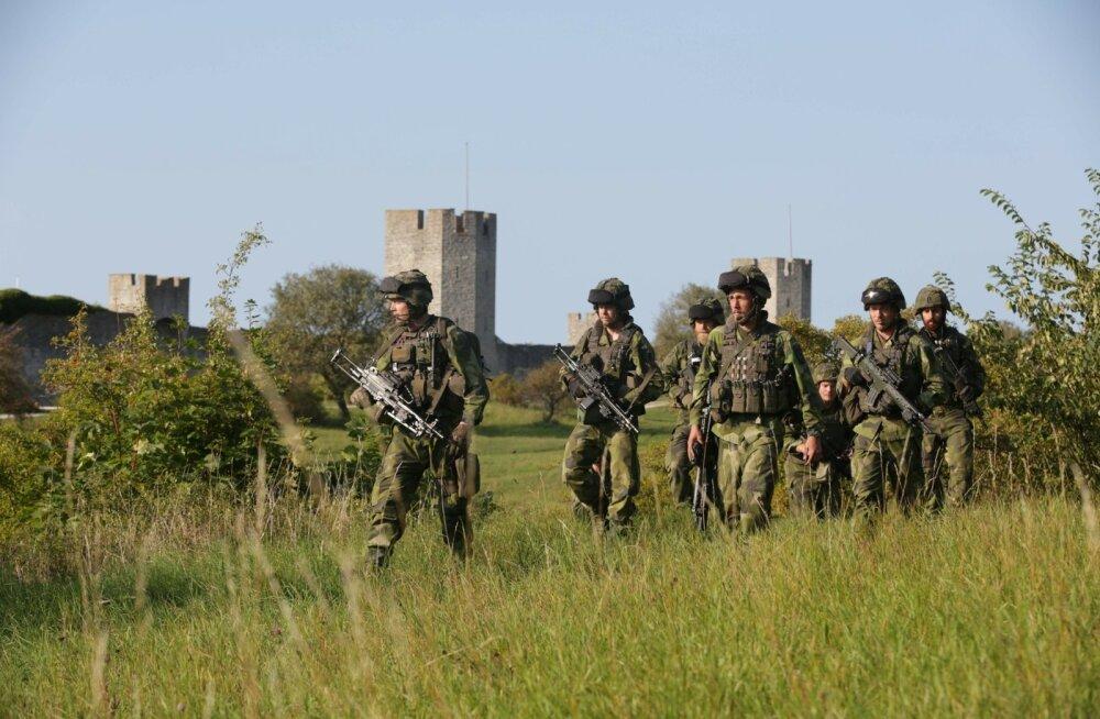USA kindral külastab oma tungival soovil Gotlandi saart