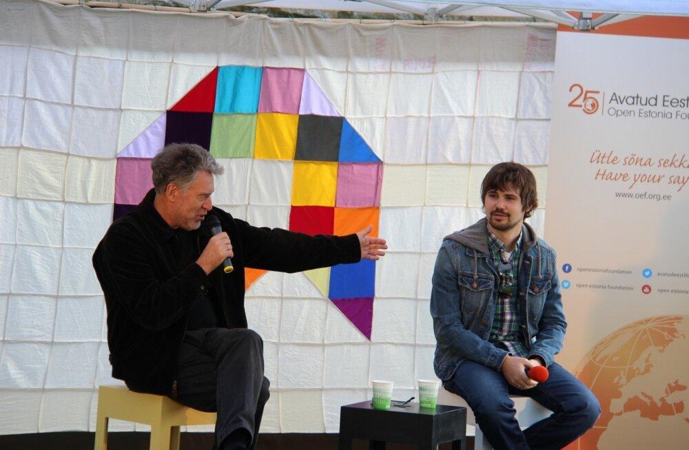 ФОТОРЕПОРТАЖ: Как в Нарве прошел Фестиваль мнений