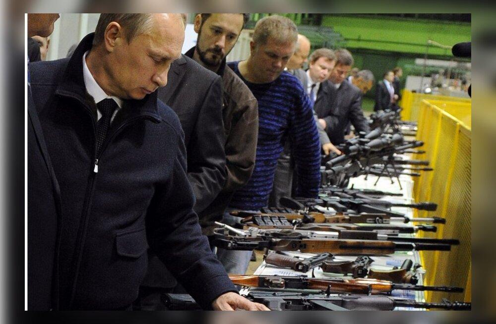 Kalašnikovi automaat - vene relvatööstuse tapvaim kingitus maailmale?