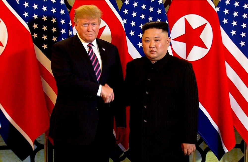 VIDEO | Trump: Põhja-Koreal on vapustav tulevik, Kim Jong-un on suurepärane juht