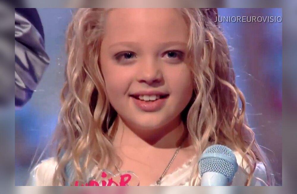 VIDEO: Kuula võidulugu! Laste Eurovisiooni võitis 10-aastane ukrainlanna