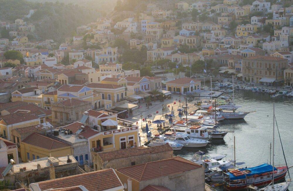 Kreeka fotoblogi: Vikerkaare maandumispaik Symi saarel