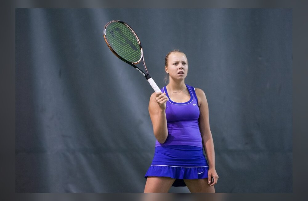 Anett Kontaveit, tennis