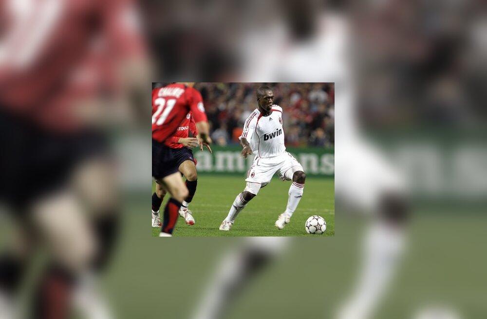AC Milani mängija Clarence Seedorf