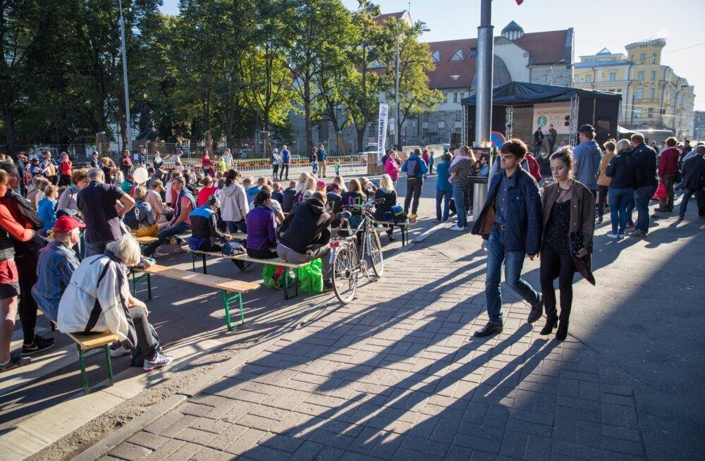 Autovaba päev Tallinnas