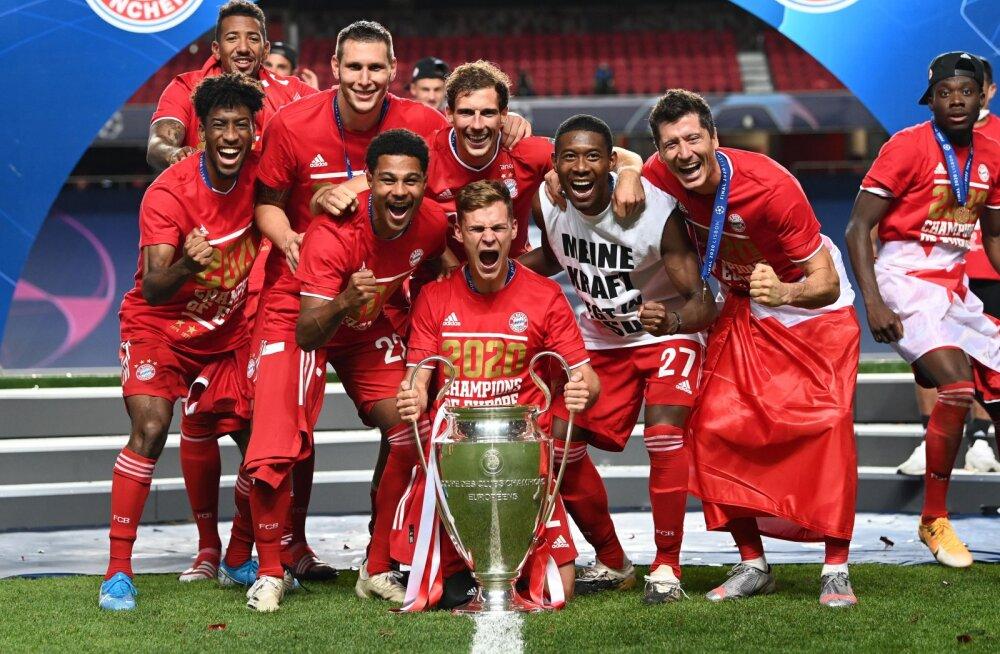 FOTO JA VIDEO   UEFA avalikustas Meistrite liiga sümboolse koosseisu ning parimad väravad