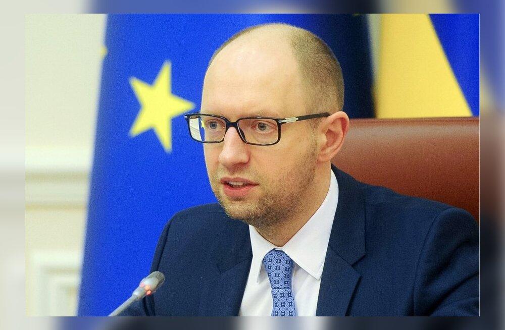 Jatsenjuk: Venemaa tahab alustada kolmandat maailmasõda