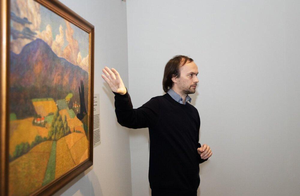 Konrad Mägi näituse avamine Torinos Musei Realis