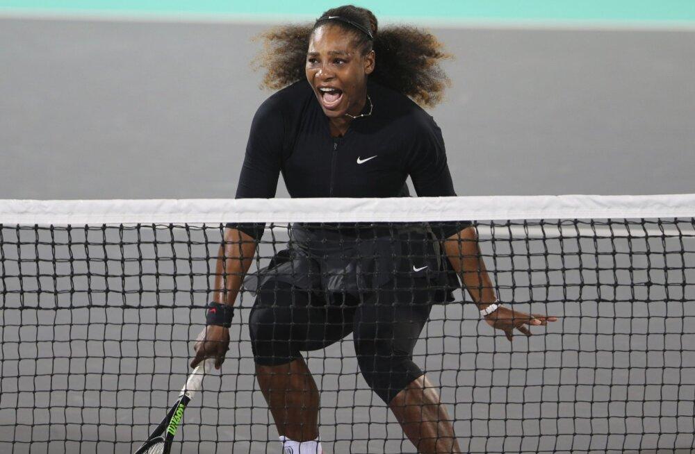 Suur tagasitulek viibib: Serena Williams veel Austraalia lahtistel ei mängi