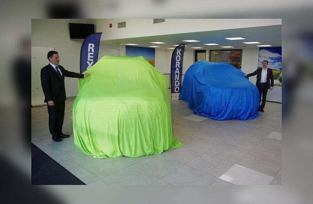 Eesti turule naasev Korea autotootja Ssang Yong pakub esialgu kaht eri mudelit