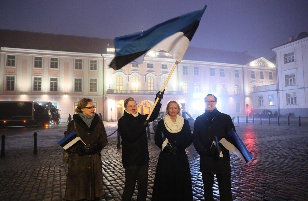 Helen Lepalaan, Madis Laansalu, Sille Tamm ja Rauno Tagel.
