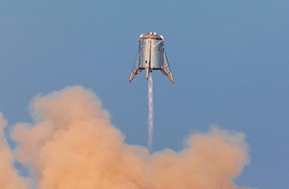 """SpaceX-i eksperimentaalne """"tähehüpik"""" läbis viimase testi"""