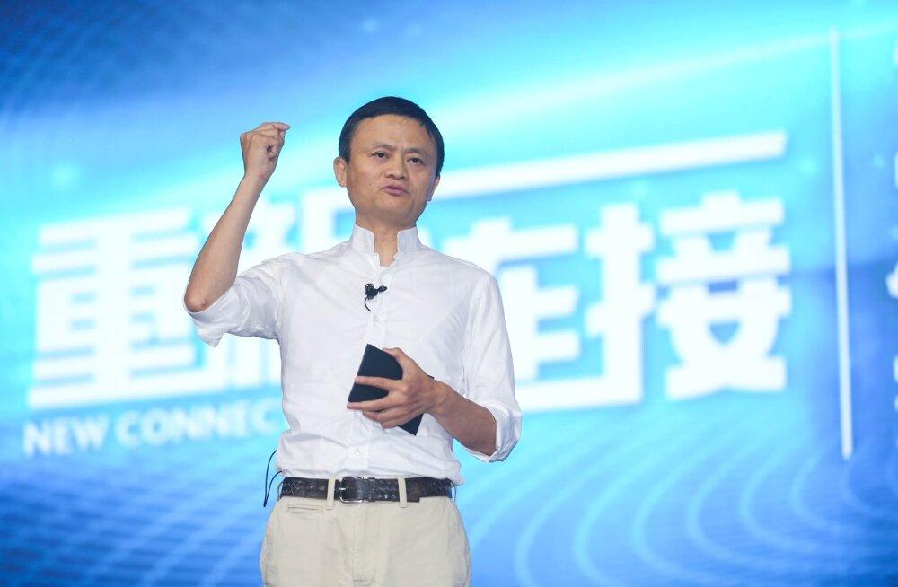 Alibaba asutaja Jack Ma