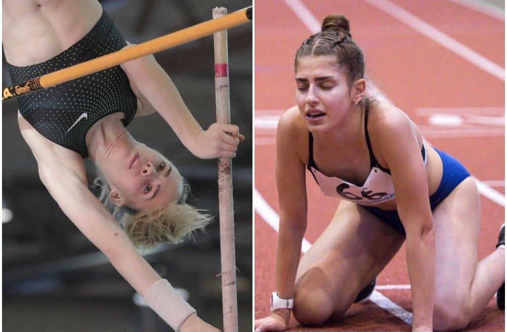 17aastane Mirotvortseva püstitas veel ühe Eesti rekordi, Mülla tõusis Euroopa juunioride edetabelis jagama kolmandat kohta
