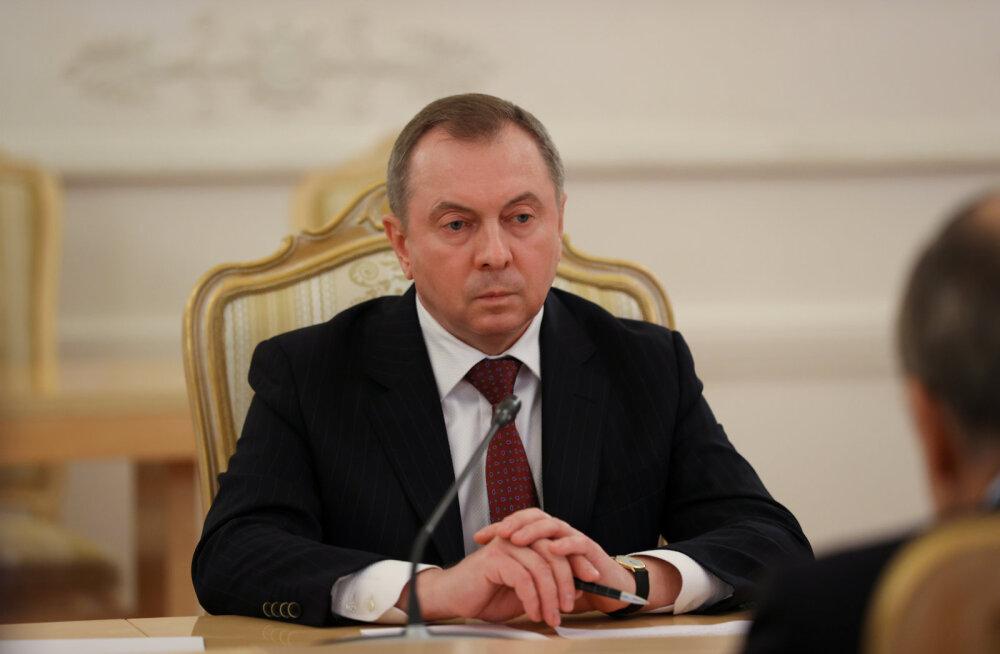 """Valgevene välisminister lubas Balti riikidele """"asümmeetrilisi sanktsioone"""", nimekirja ei avaldata"""