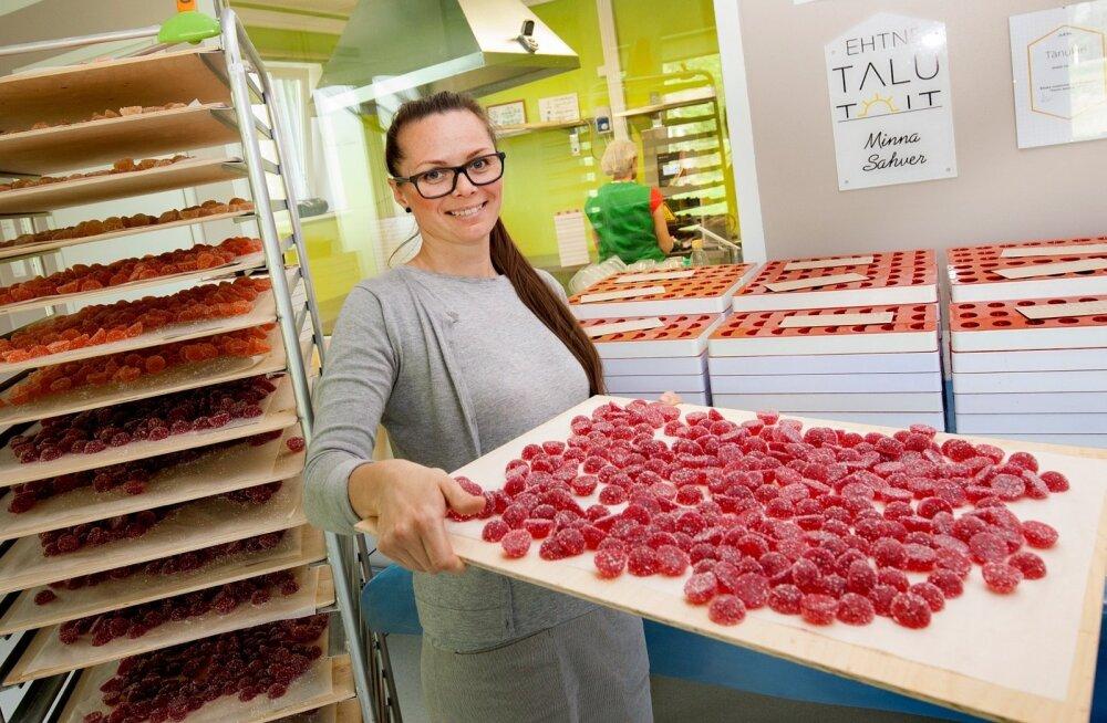 Kaheksa aastat tagasi oma toiduäriga alustanud Siret Elmi on nüüdseks oma käsitöömarmelaadidega nii tuntuks saanud, et need jõuavad 70 müügikohta üle Eesti.