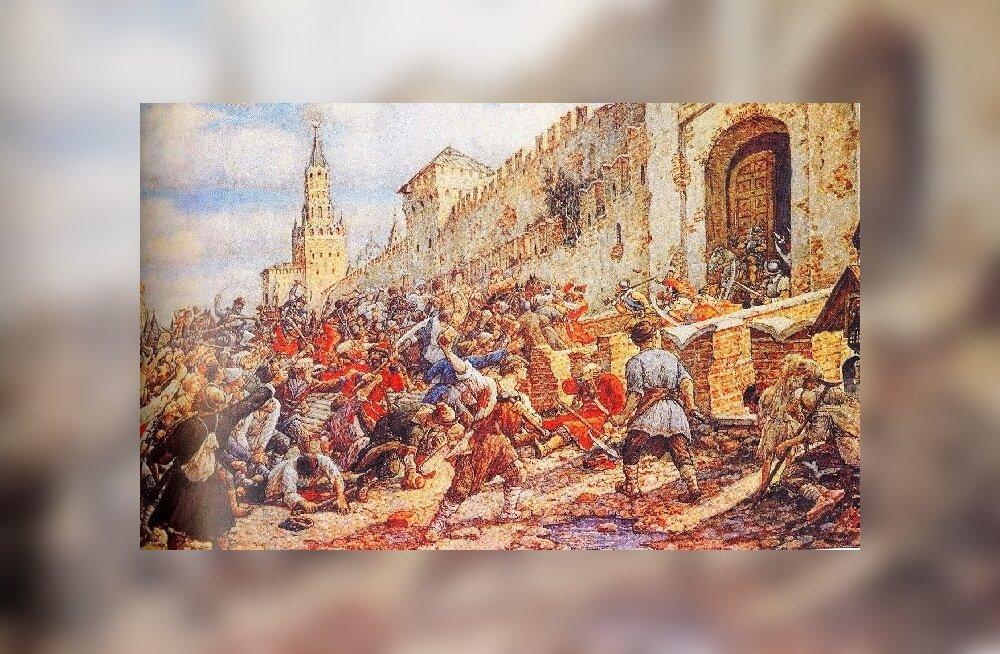 """Эрнст Лисснер """"Соляной бунт на Красной площади"""""""
