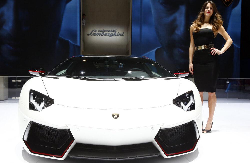 Rahasääst missugune: mehed 3D-printisid kodus Lamborghini Aventadori