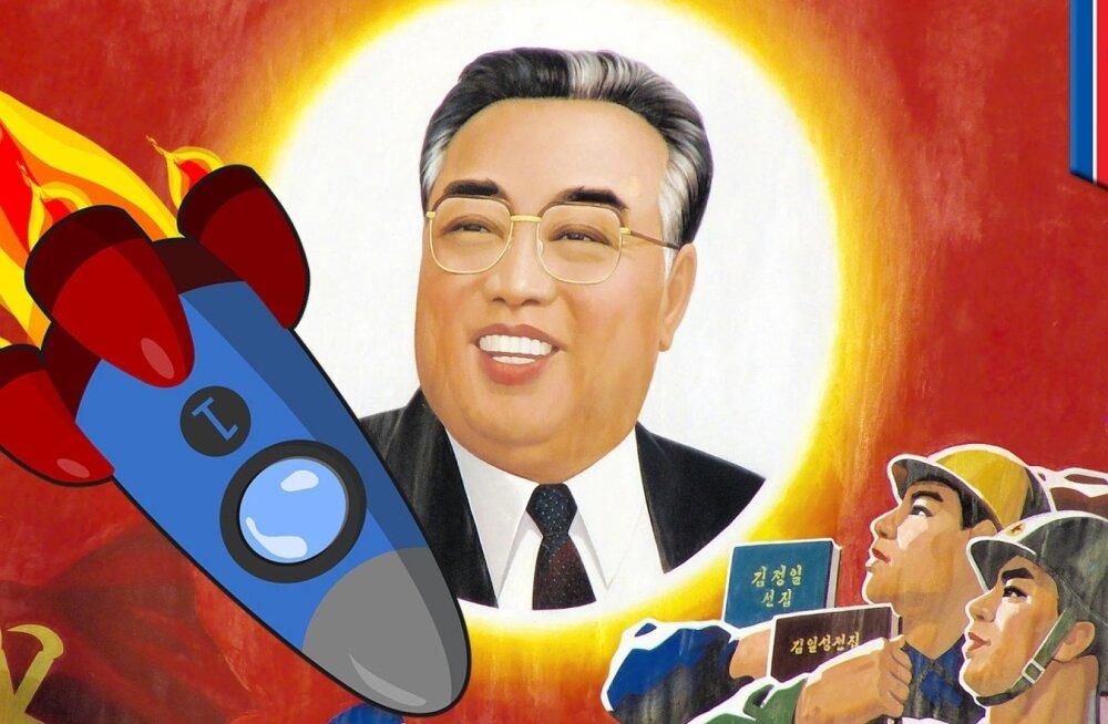 Kim Il-Sung, rahvaste päikene.