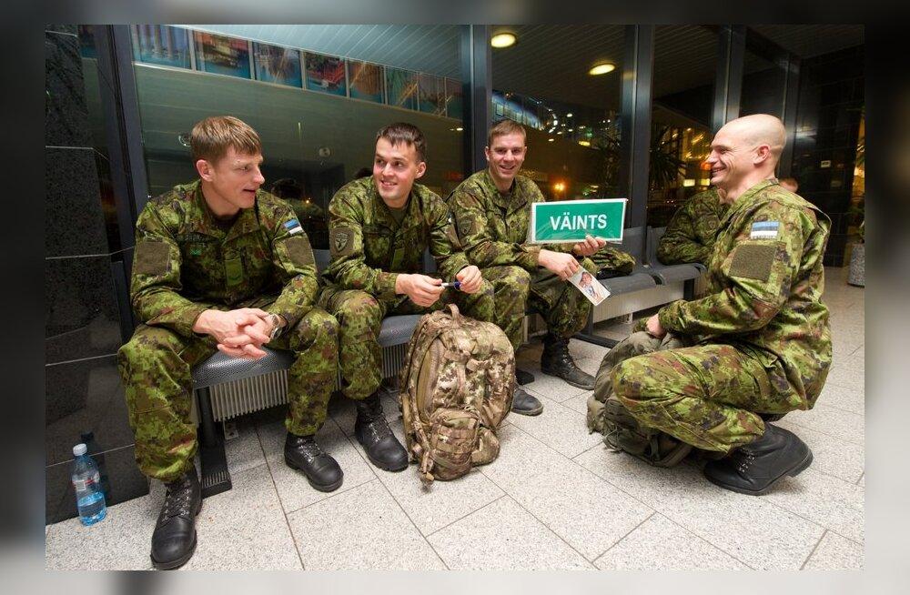Steadfast Jazz.Kaitsevägi suundub Poola õppustele.Tallinna Lennujaam