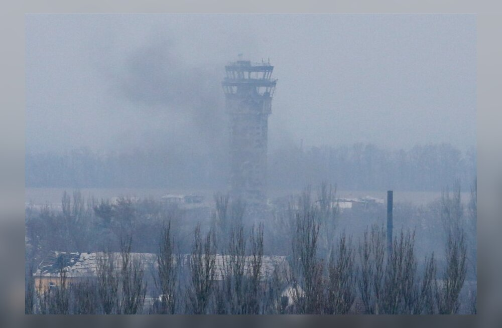 Ukraina kaitseminister: olukord Donetski lennuväljal on stabiilselt raske, aga ära ei anta meetritki