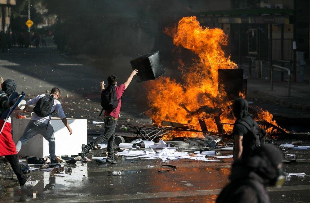 Protestid Santiagos Tšiilis