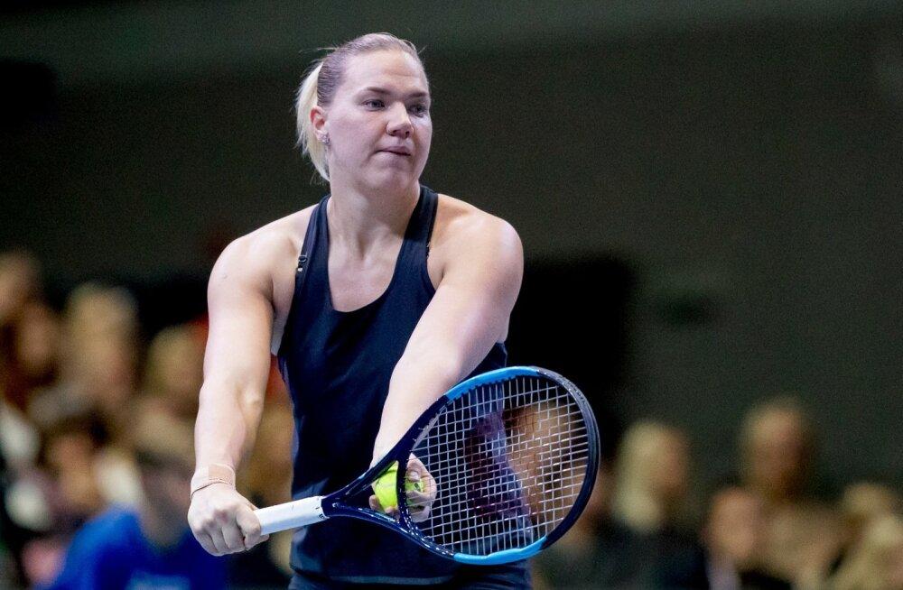 Tennisematsh Anett Kontaveit vs Kaia Kanepi