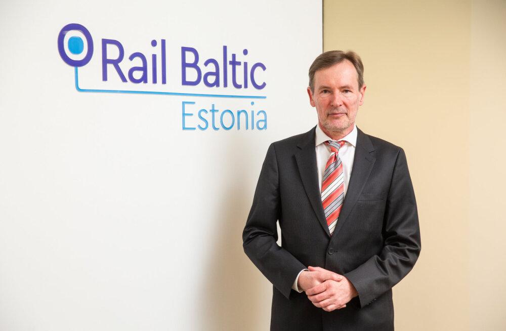 Руководителем Rail Baltic Estonia станет Тыну Грюнберг